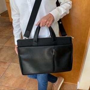 Black handbag/laptop case